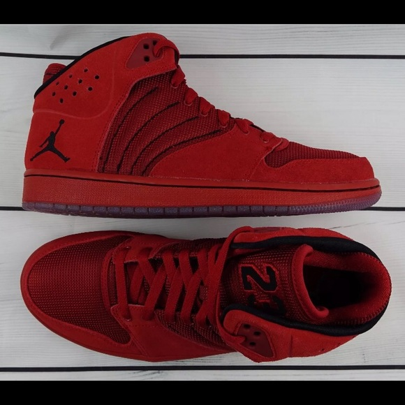 low priced 96ff1 8739a Air Jordan 1 Flight 4 Shoes Red 🏀👟